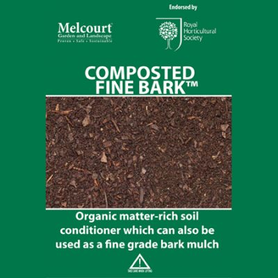 Melcourt Composted Fine Bark