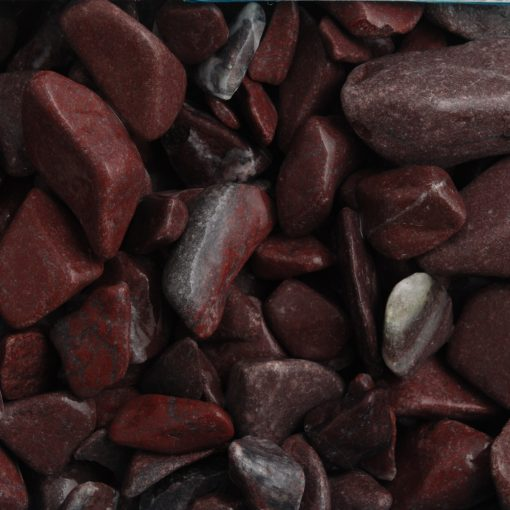 Decorative Red Laguna Pebbles
