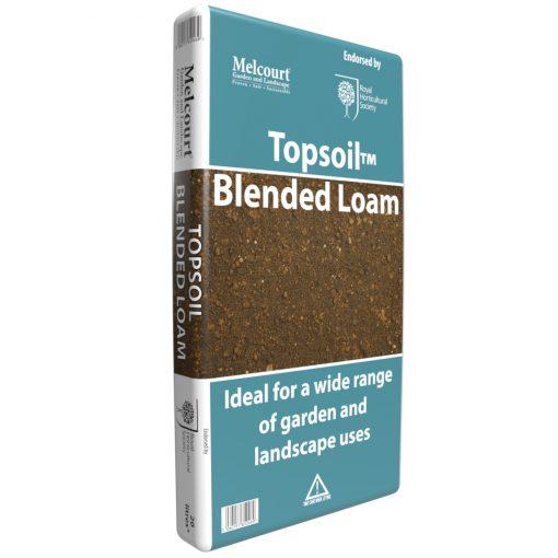 top soil blended loam peat free